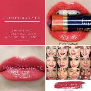 SeneGence Lip Sense Pomegranate color